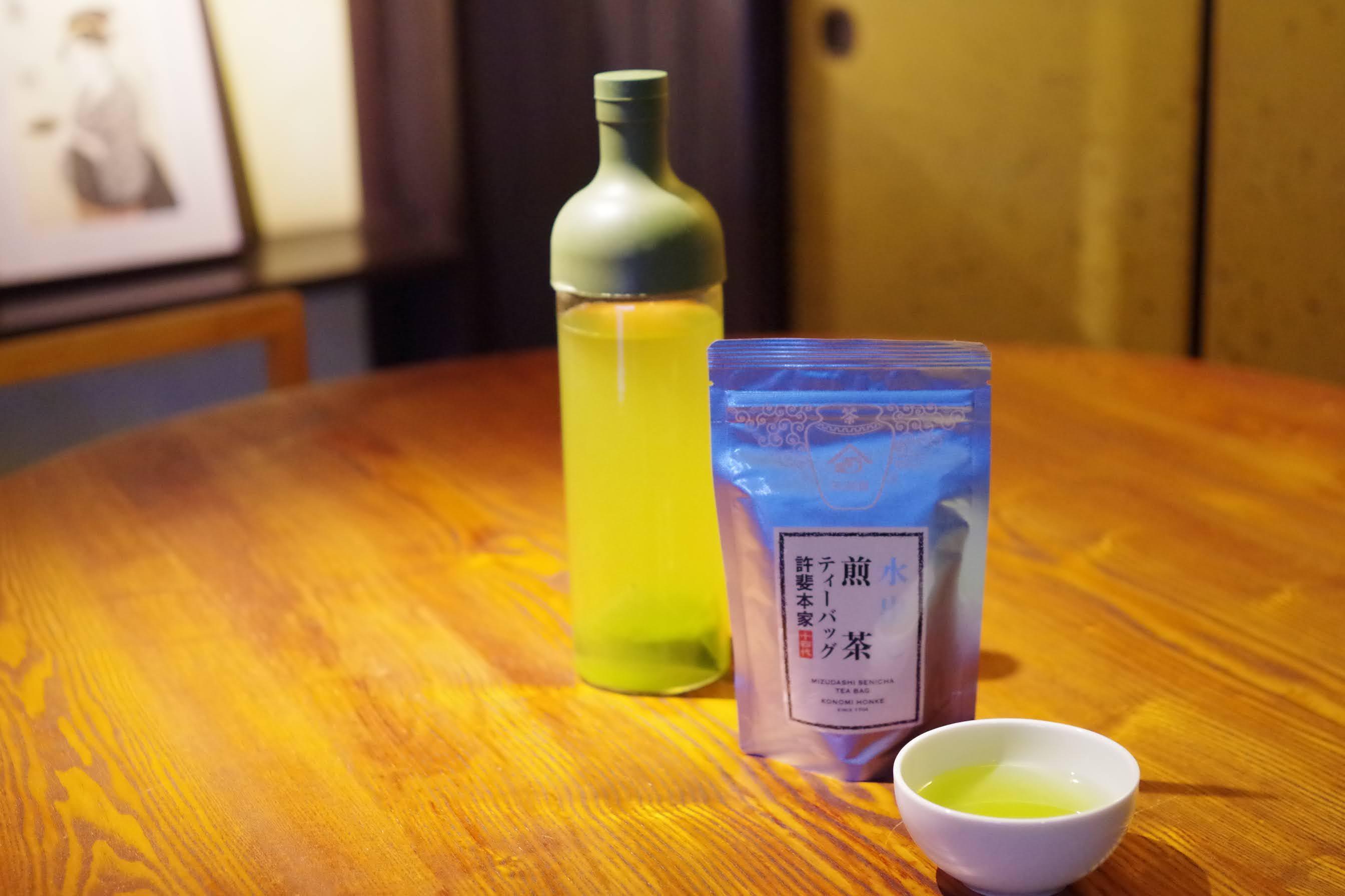 いつもの麦茶を緑茶にするなら水出しタイプがおすすめ!
