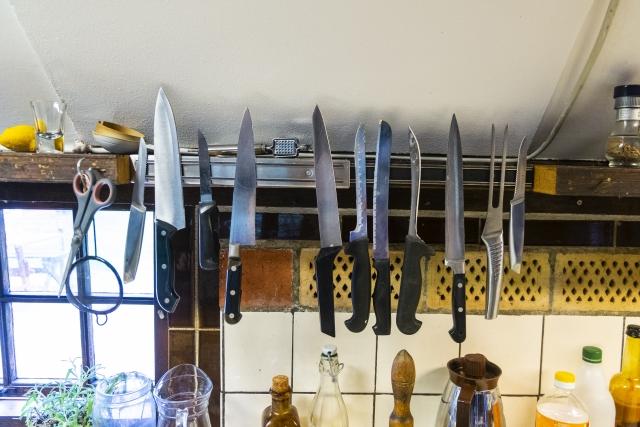 調理用だけじゃない!ナイフ&包丁の種類をご紹介