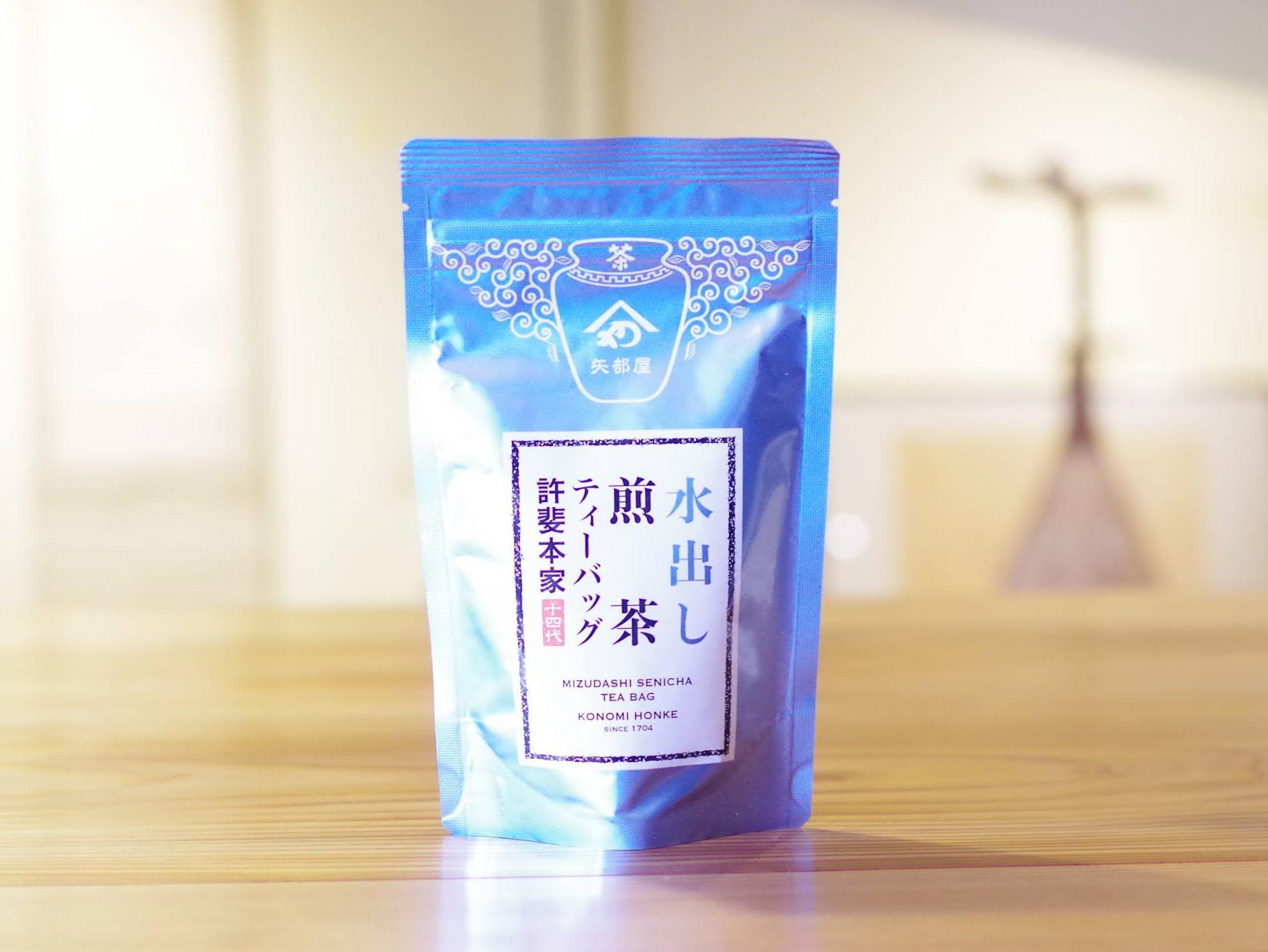 特撰 水出し煎茶ティーバッグ 5g×10ヶ入
