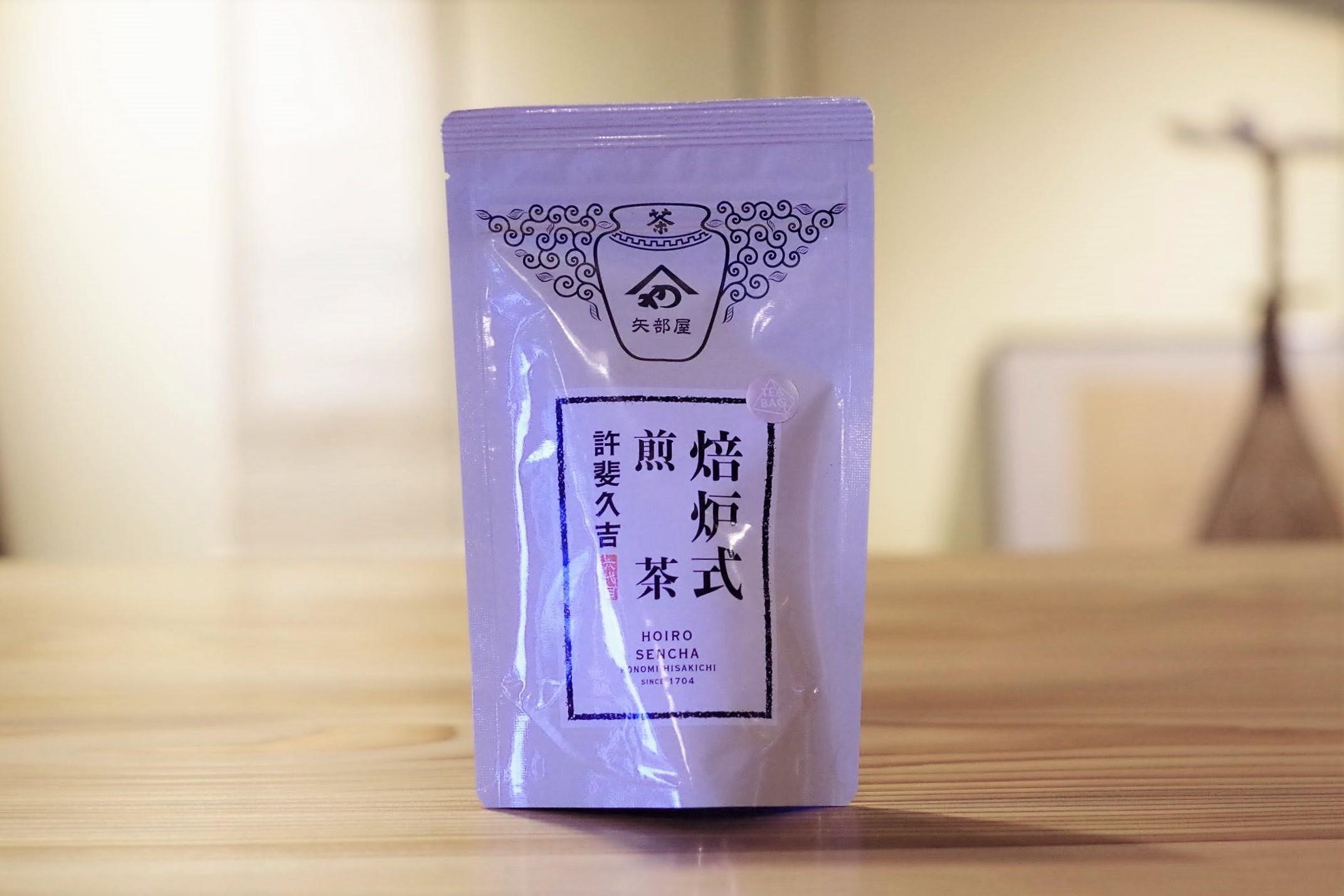 焙炉式煎茶ティーバッグ